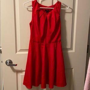 A line silk dress